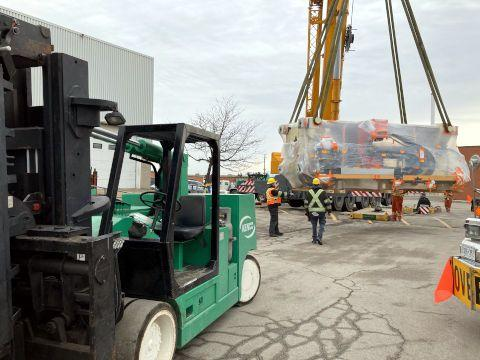 Machinery Moving Services GTA