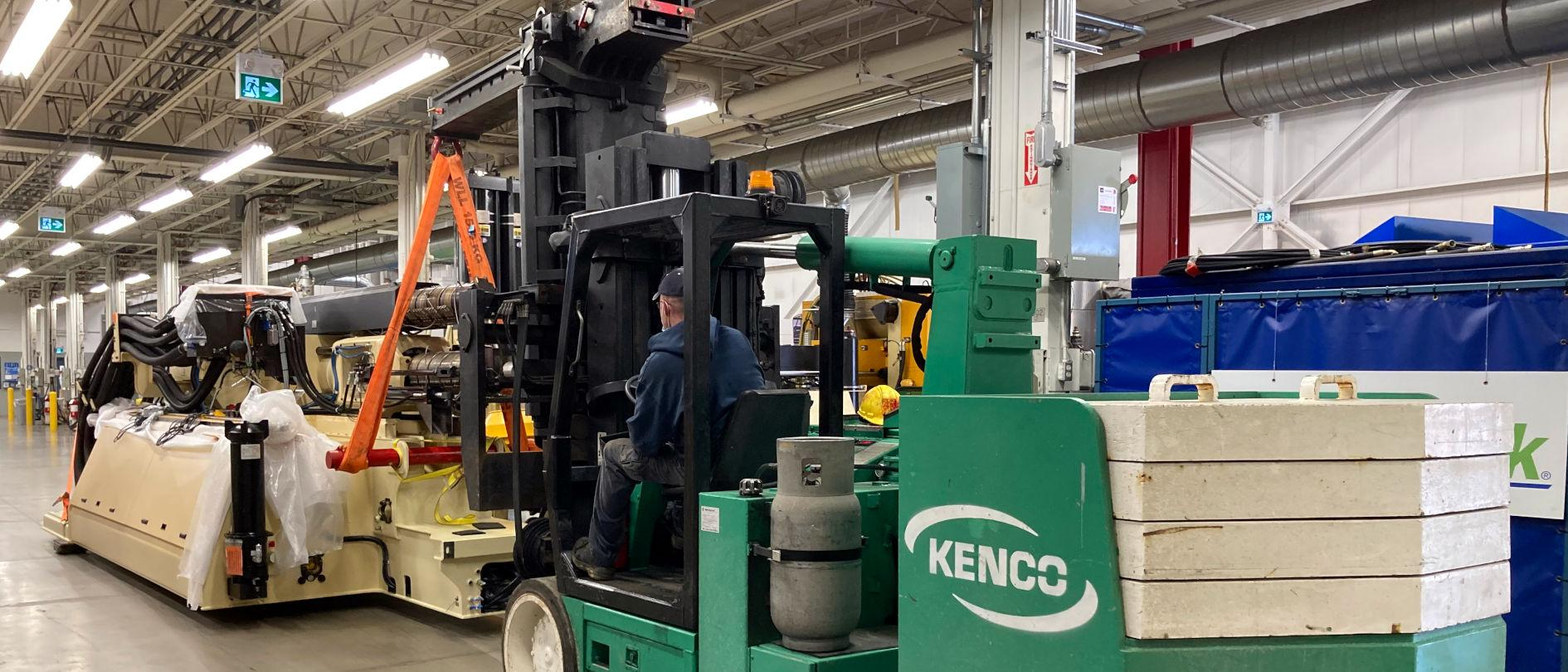 Kenco Machinery Movers and Millwrights Ltd